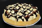 Recept Třepací mandarinkový dort s banánem a čokoládou - třepací dort