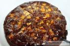 Recept Třepací mandarinkový dort s banánem a čokoládou - čokoládový dort