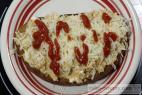 Recept Ďábelské topinky zapečené se sýrem - topinky - návrh na servírování