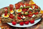 Recept Pomazánka z uzených šprotů - rybičková pomazánka - návrh na servírování