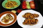 Recept Grilovaná krkovice na rozmarýnu - krkovice - návrh na servírování