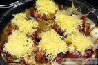 Recept Kuřecí játra v županu jalapeňos se sýrovou čepicí - játra v županu - příprava