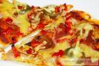 Recept Luxusní pizza s feferonkou - pizza