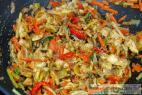 Recept Asijská kuřecí čína na víně se staročeskou rýží - kuřecí čína - příprava