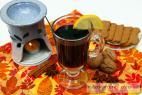 Recept Svařák s rumem - svařené víno - návrh na servírování