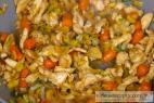 Recept Pikantní smažené nudle s kuřecím masem - smažené nudle - příprava