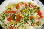 Recept Pekingské nudle s kuřecím masem - smažené nudle - příprava