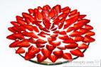 Recept Rychlý ježek s jahodami - jahodový dort