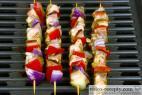 Recept Drůbeží ražniči na grilu - kuřecí ražniči - příprava