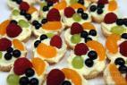 Recept Ovocné košíčky s želatinou - ovocné košíčky