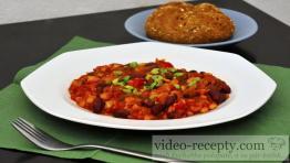 Jemný fazolový guláš