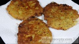 Chlebový bramborák s kuřecím masem