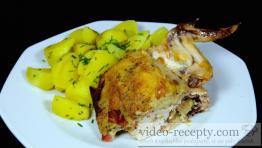 Excelentní kuře s kari nádivkou