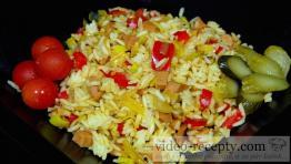 Rychlé rizoto s uzeninou a sýrem