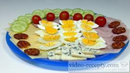 Obložený talíř