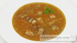 Jemná rybí polévka z filé