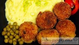 Brokolicové krokety s hráškem