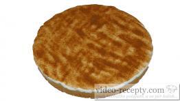 Jablečný pudingový koláč