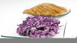 Hanácký salát z čerstvého zelí