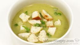 Jednoduchá pórková polévka
