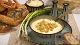 Sýrová polévka bez chemie