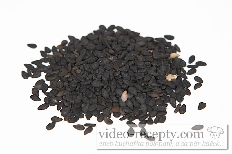 Sezam černý - sezamové semínko