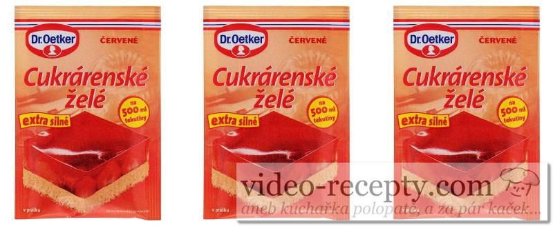 Cukrárenské želé - Dr.Oetker